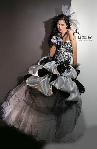 Wedding Saloon :: Черные свадебные платья фото - Свадебные платья