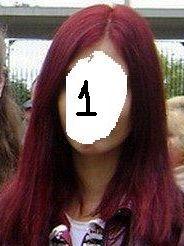Фото цвета баклажан на волосах