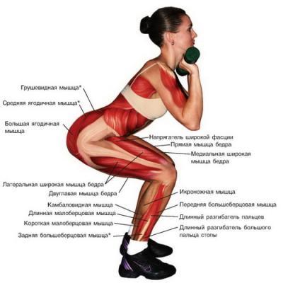 упражнения для сжигания жира на ногах