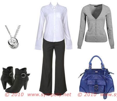 Модно одеваться на работу