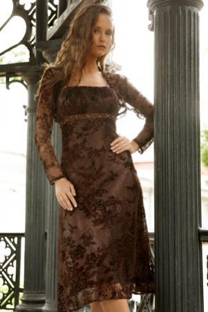 Изысканное вечернее платье 35.