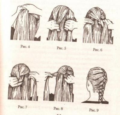 Как самостоятельно плести французскую косу