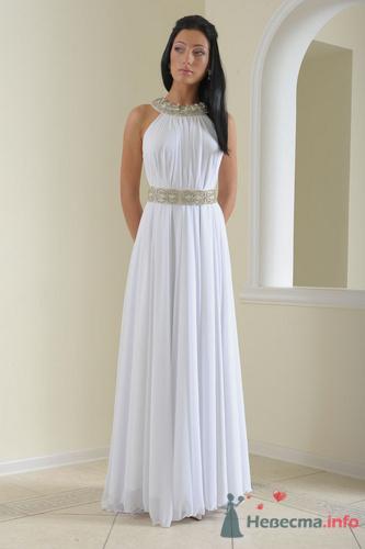 """Образ  """"греческая богиня """" (ампир) коллекции вечерних платьев."""