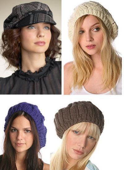 шапки с помпонами. модные вязаные шапки вязать. Шапка норковая