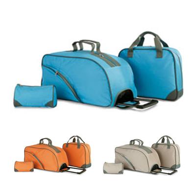3В1 Сумка на колёсиках, сумка для документов и косметичка.  KC6768.