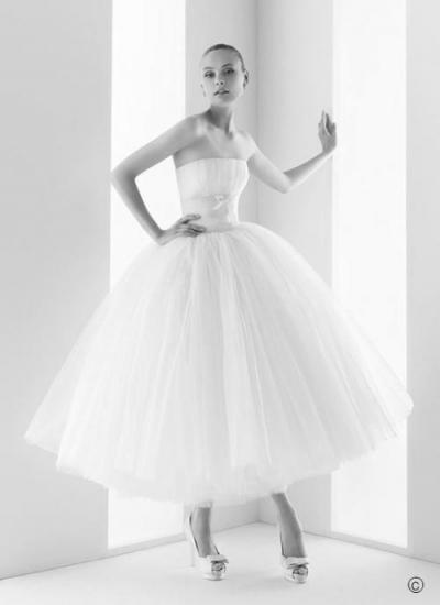 Свадебные ретро платья.