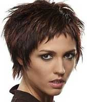 Данная стрижка подойдет для волос длиной до середины уха.  Волосы должны быть нормальные или густые...