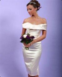Короткие свадебные платья 2011.