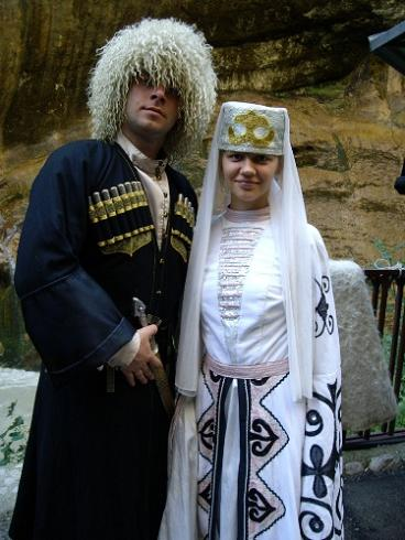 Татарская национальная одежда в Пензенской области.