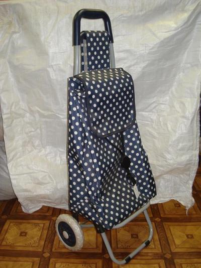 Хозяйственные сумки тележки. Хозяйственная сумка тележка горох.