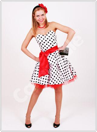 Платье в стиле стиляг своими руками