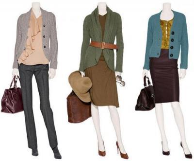 Модный кардиган: с чем носить.  Модные вязаные кардиганы.