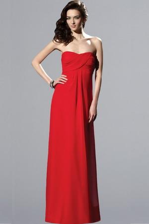 длинное красное платье (32 фотки)