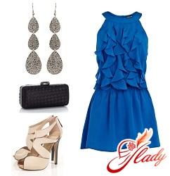 Шелковое платье в стиле джазовых 20-х, расшитое пайетками, бисером и...