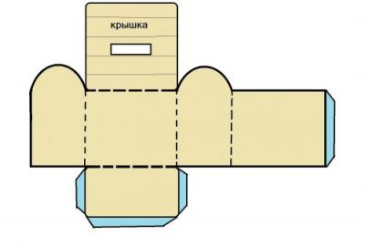 Как сделать бумажный сундук своими руками