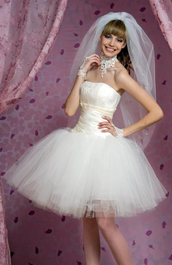 Wedding Saloon :: свадебные платья 2014 фото, короткие - Свадебные