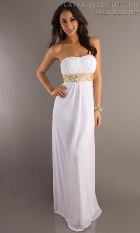 Греческое платье в пол фото