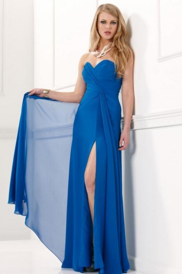 длинные вечерние летние платья
