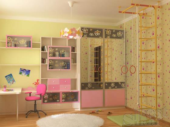 Мебель шкафы купе в детскую комнату