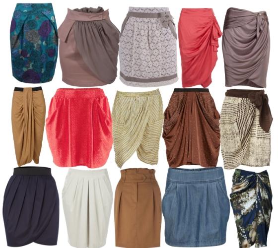 Фасоны юбок для девочек-
