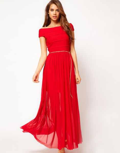 Красное Платье Для Свидетельницы 42