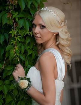 Греческие свадебные причёски фото