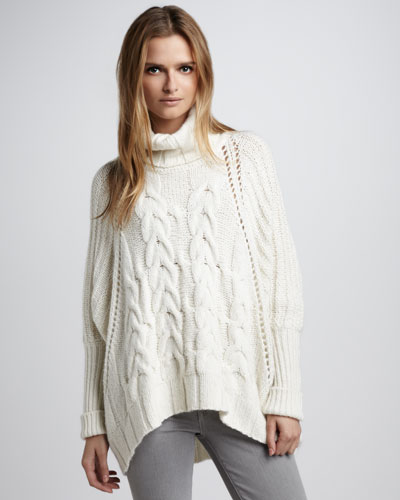 Модное вязание спицами кофты