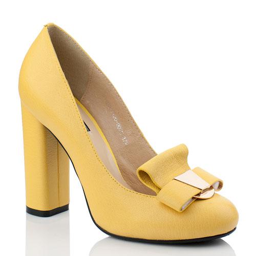 Туфли На Устойчивом Каблуке Фото