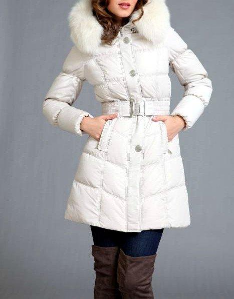 белая куртка женская зимняя с капюшоном фото 2011 2012