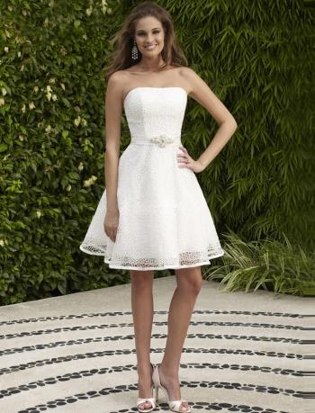 Хабаровск Короткое Свадебное Платье 13
