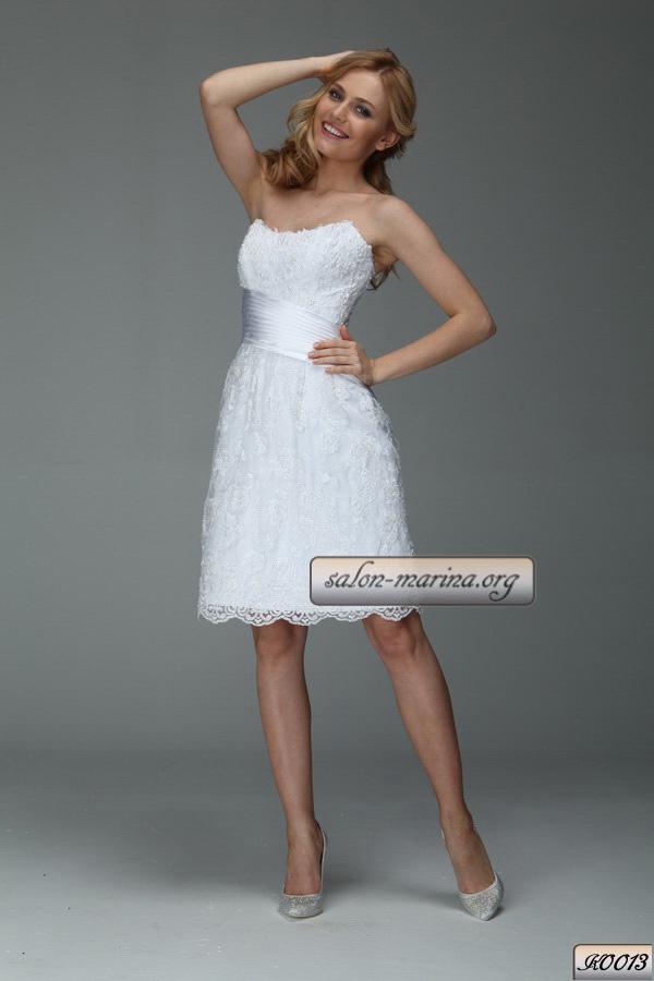 Короткие свадебные платья недорогие цен - 17 Февраля 2015 - Blog