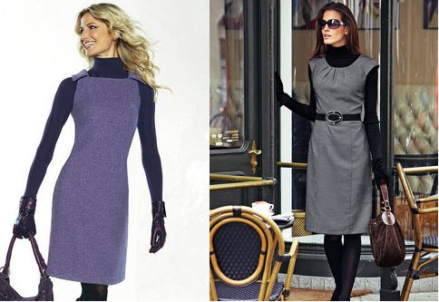 Модные фасоны платьев для полных. фасоны платьев