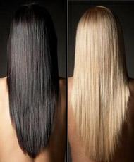 Правильно – потому что длинные волосы