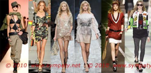 Тенденции весны-2014: модные стили одежды.