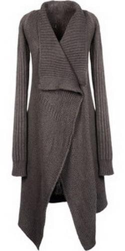 Сайт учит вязать своими руками. . . Пестрое вязаное пальто, Стильное вязаное