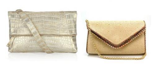 Маленькие сумочки клатчи могут быть выполнены в различной цветовой...