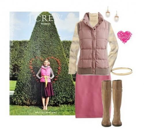 Дутые жилетки: стиль на осень - с чем их носить.
