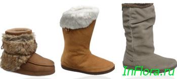 Стильная обувь на полную ногу, зима