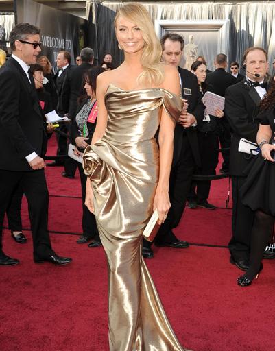 Оскар 2012: Джордж Клуни со своей подругой Стейси Кейблер.
