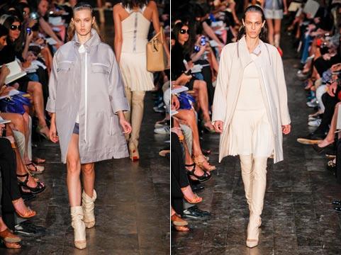 Пальто 2012: отделка Нельзя не заметить богатую отделку на модных...