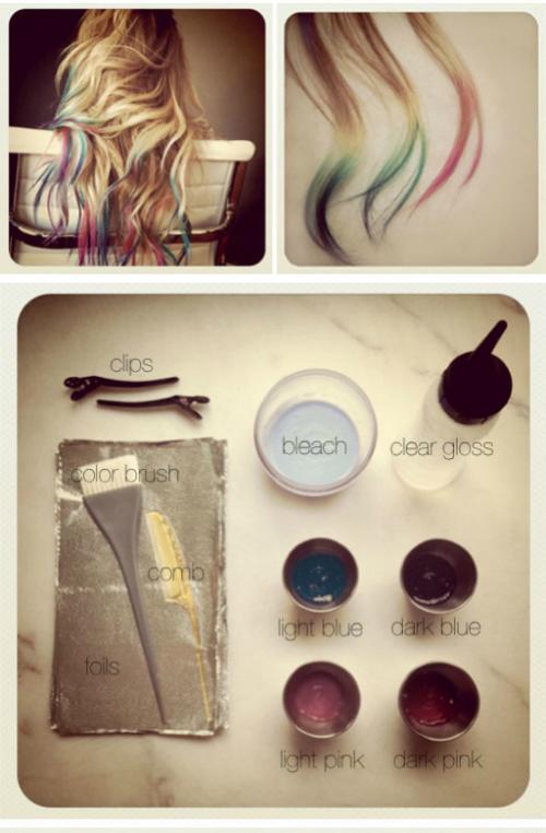Как покрасить волосы без красок в домашних условиях