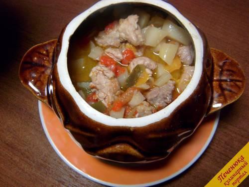 Свинина в горшочках рецепт фото пошагово