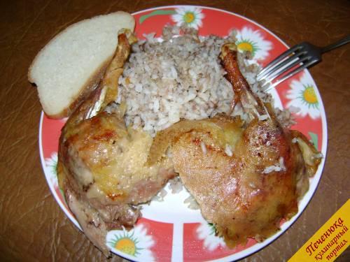 Утка с рисом в духовке пошаговый рецепт с