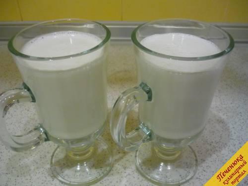 Молочный коктейль в миксере рецепты пошагово с