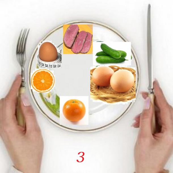 Похудеть Яйцами