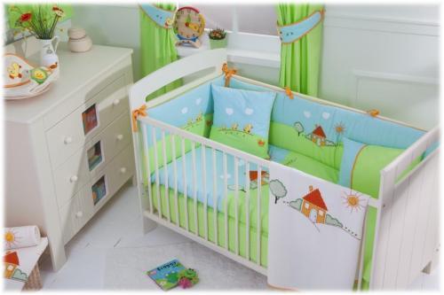 Детские постельные комплекты в кроватку своими руками