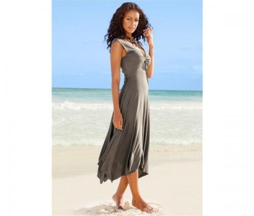 plyazhnoe-plate-1199r. брюки и костюмы мужские Пляжное платье.