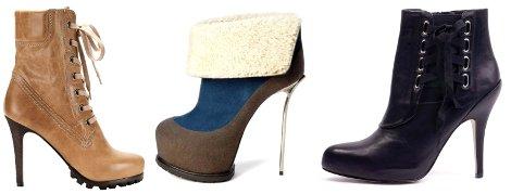 Модная и стильная обувь наступающей осени 2011.