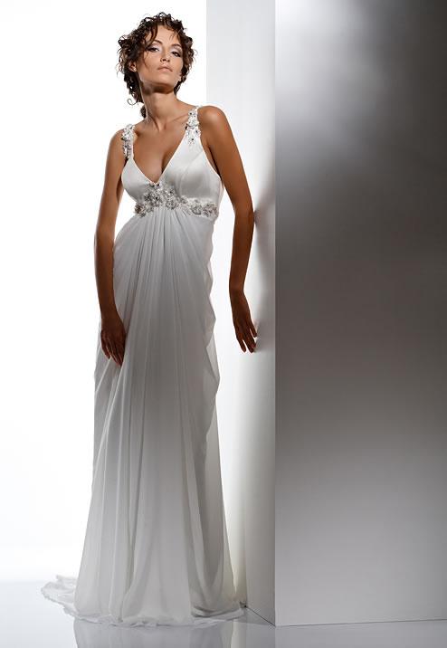 Свадебные прически в греческом стиле.
