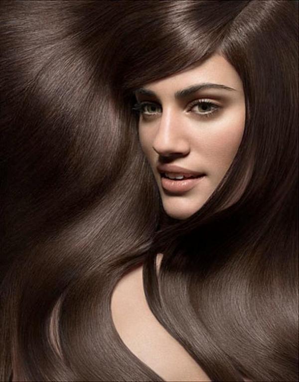 Каштановый цвет волос оттенки фото 1